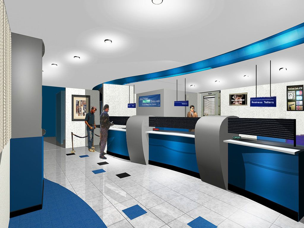 Tips on fixing up the interiors of a bank